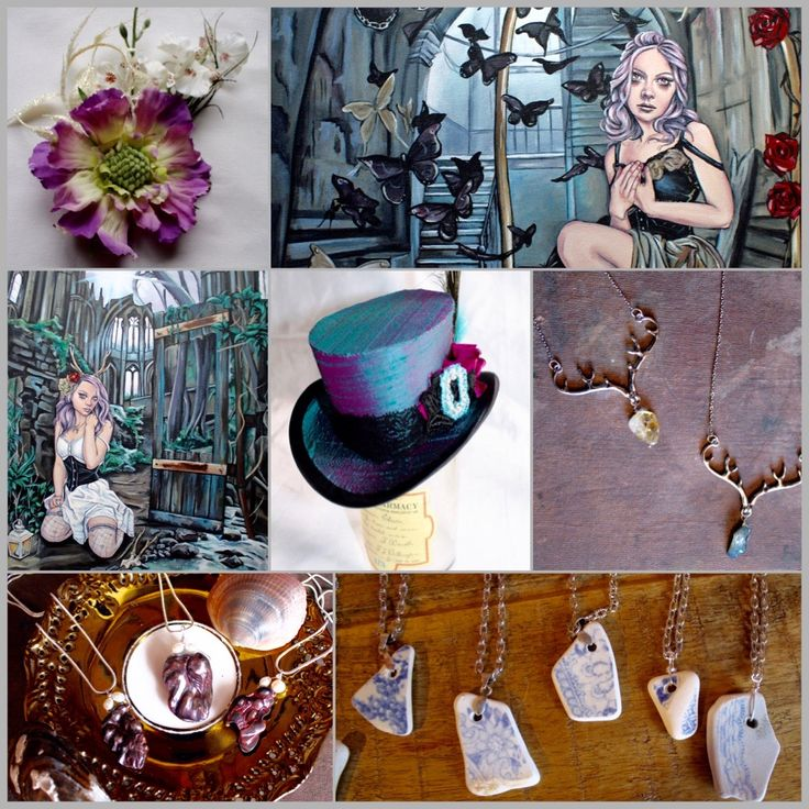 Supporting the independent shops in the high street. Creative artists…