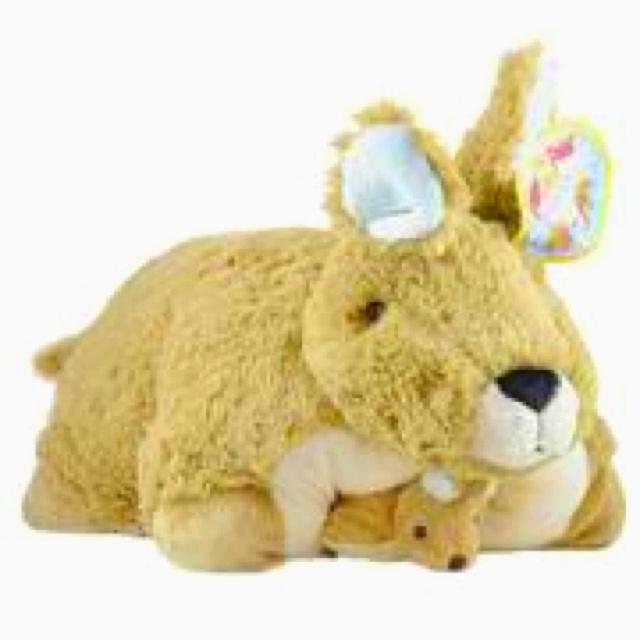 Animal Pillow Pets : kangaroo pillow pet!! Things I Love Pinterest Kangaroos, Pets and Pillows
