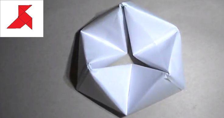 Как сделать оригами флексор из бумаги А4?