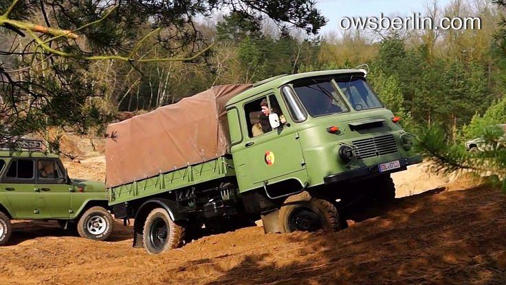 Robur Lo 2002 A DDR NVA LKW. East Germany (GDR) army truck.