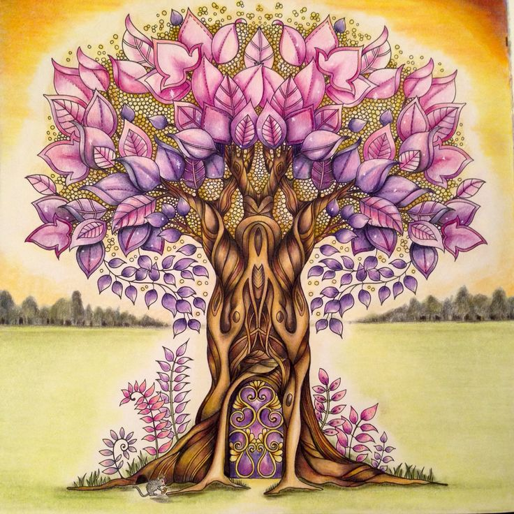 1000 Images About My Enchanted Forest Colouring Book On
