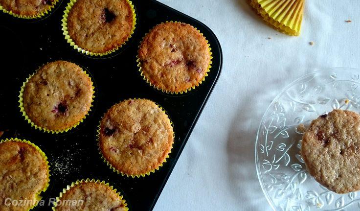Muffins de amora!