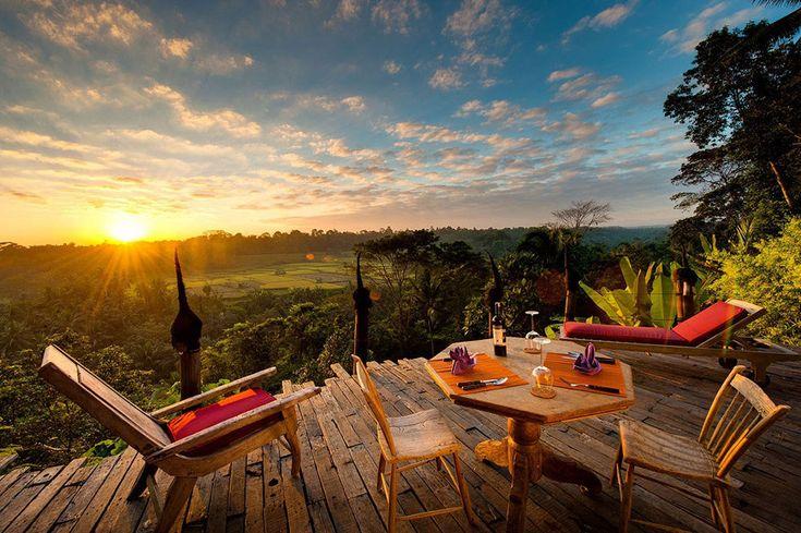 list of amazing,  unique Bali stays