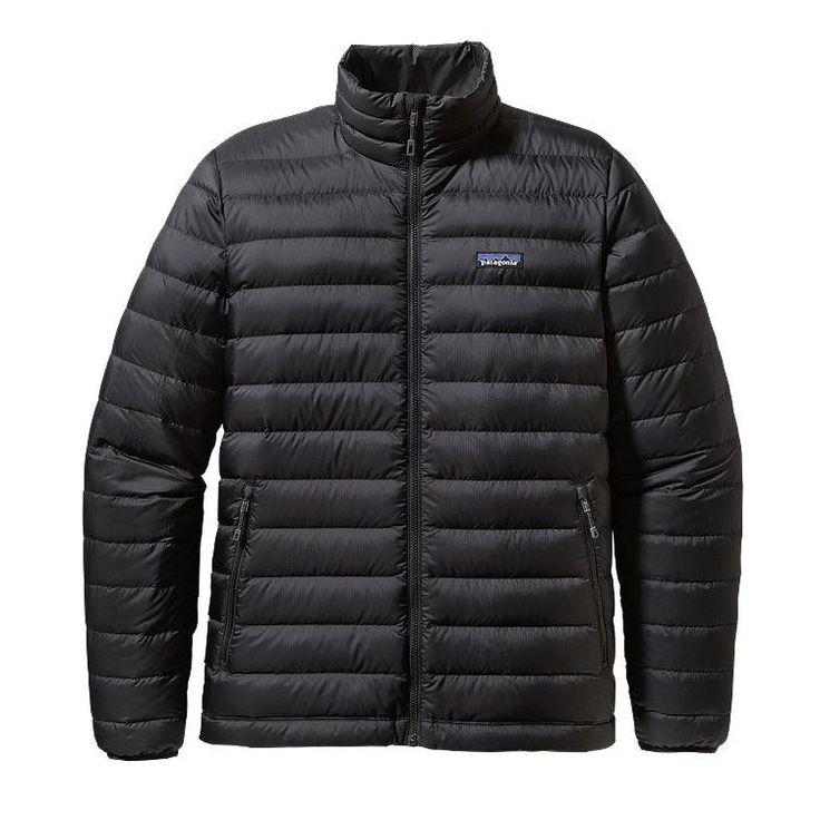 Patagonia Men's Down Sweater Jacket 84674 Black