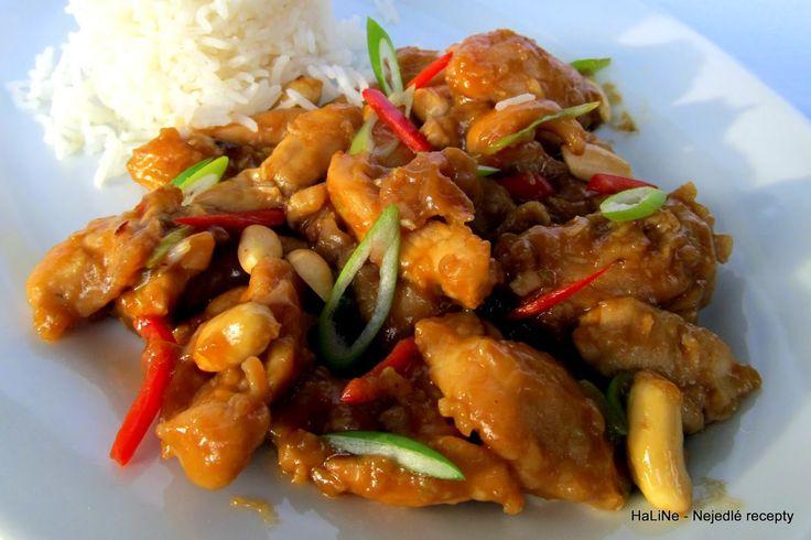 Nejedlé recepty: Kuře Kung Pao