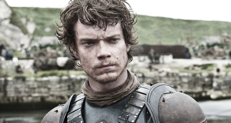 Game of Thrones Theon Greyjoy #gameofthrones #got