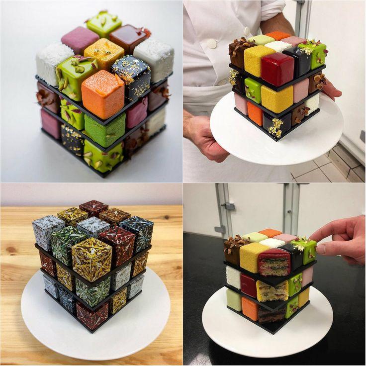 как сделать дома необычный торт фото слой овощей
