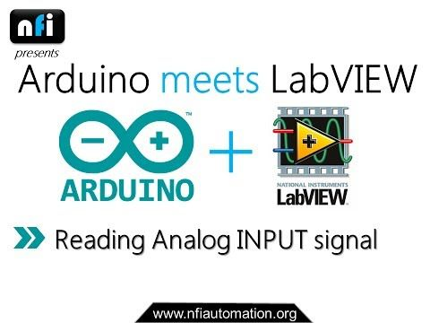 Arduino meets LabVIEW: Displaying Message on LCD Screen using LabVIEW - YouTube