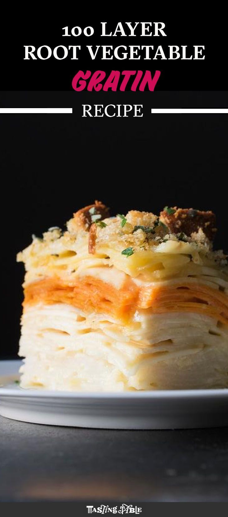 3 types of cheese take this bubbly casserole to the next level