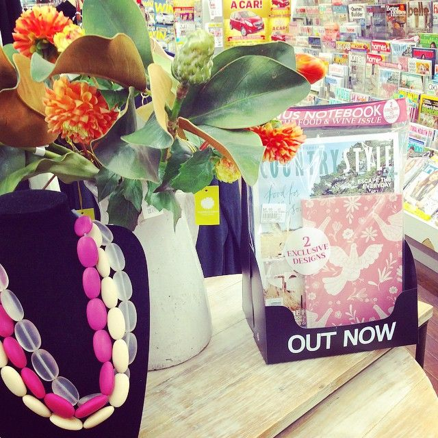Beautiful visual merchandising, spotted at Sunbury Newsagency, Victoria, Australia.