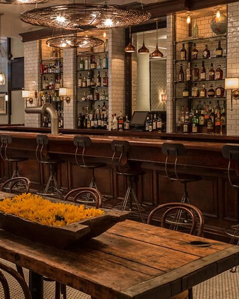 50 Elegant Industrial Style Home Bar Ideas in 2019  Bars