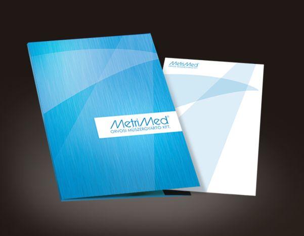 MetriMed folder & letterhead