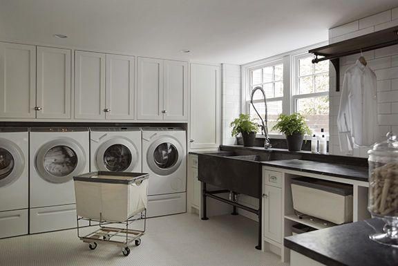 Luxe Laundry Rooms - Design Chic