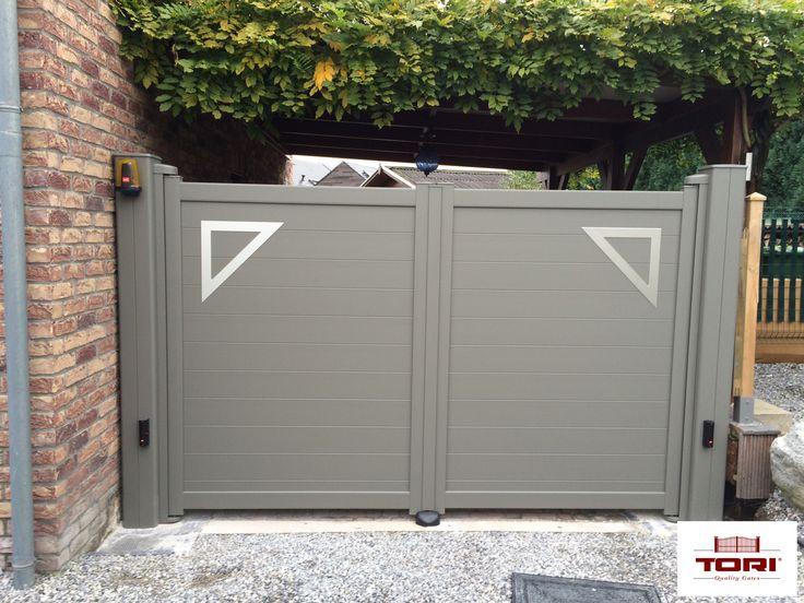 Portail aluminium id es portail pour for Portail jardin aluminium