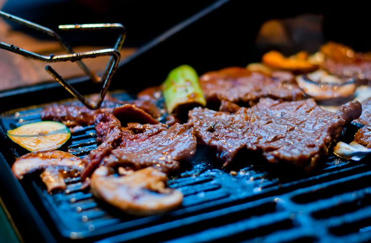 Korean BBQ: the go-to solution for when you've got a big group but want to keep things affordable.
