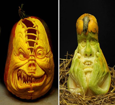 Best Carve Pumpkins Images On Pinterest Blog Carved Pumpkins - Mind blowing pumpkin carvings by ray villafane 2