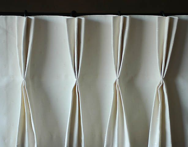Pinterest diy curtains window curtain designs and 3 window curtains - How To Make Pinch Pleated Drapes With Deep Pleat Tape