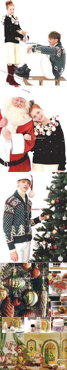 Рождественское вязание спицами - пуловер и кардиган