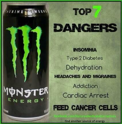 What Are The Bad Chemicals In Energy Drinks