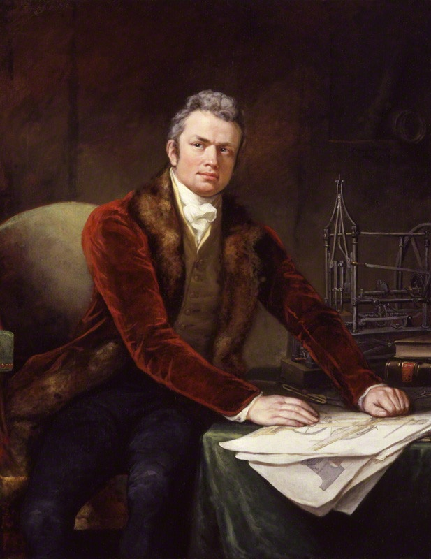 Sir Marc Isambard Brunel by James Northcote (1812-1813), dated 1813
