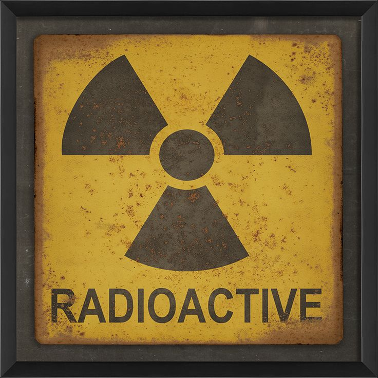 Radioactive Sign by The Artwork Factory