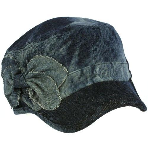 Denim Ribbon Bow Cotton Acid Wash Military GI Castro Cadet Jeans Cap Hat Blue $14.95Castro Cadet, Jeans Cap, Hats Blue, Cap Hats, Cadet Jeans, Bows Cotton, Acid Wash, Denim Ribbons, Cotton Acid