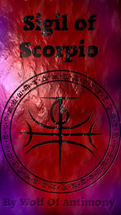 Sigil of Scorpio