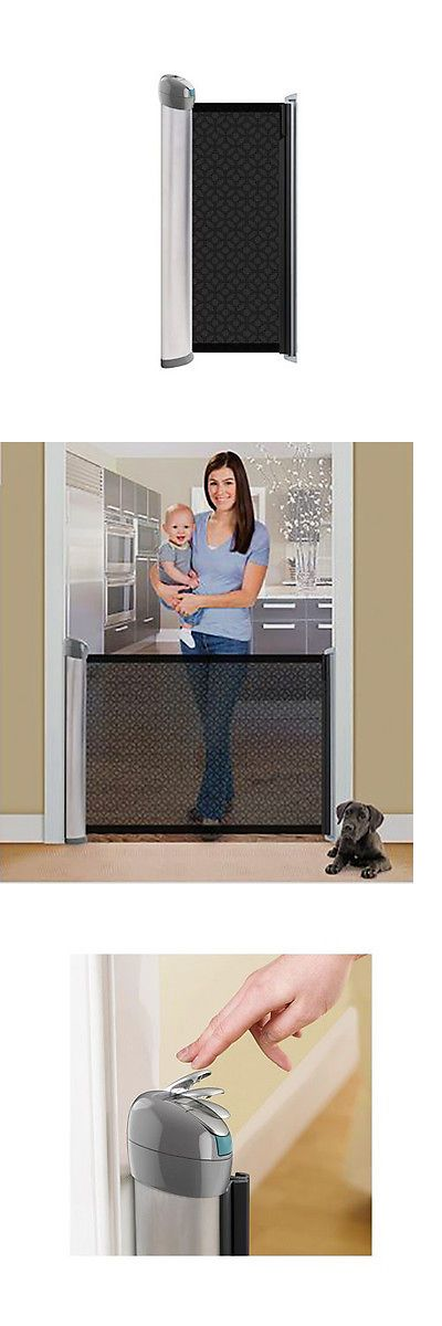 baby kid stuff: Summer Infant Retractable Baby Gate (New In Box, Free Ship, Best Price Listing) BUY IT NOW ONLY: $50.0