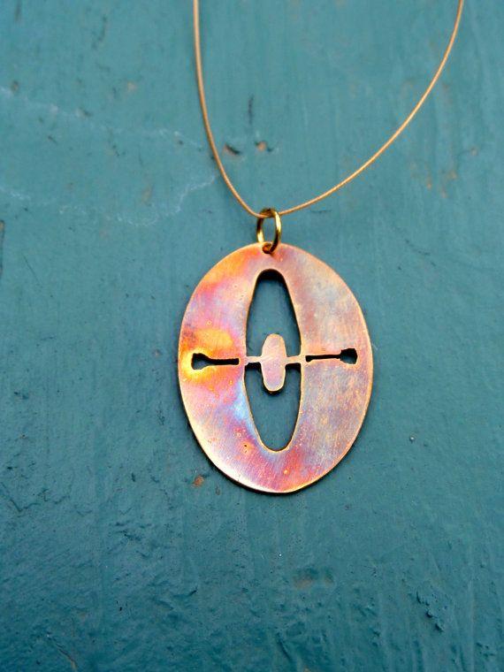 Kayak Outdoor Sports Jewelry by ILovePersonalPrints on Etsy