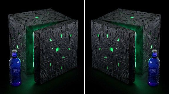Assimilate your drinks with this Star Trek Borg fridge thats on sale
