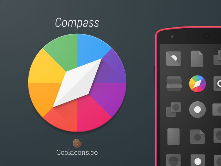 Compass Product Icon by Michael (Cookicons) Cook