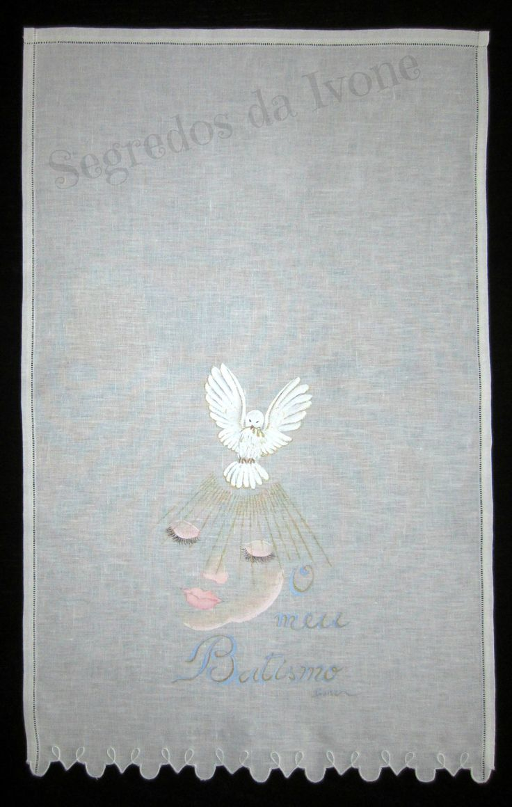 AB1- Pintura em toalha de batismo
