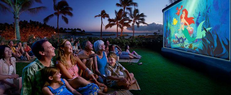 ʻオハナ・ディズニー・ムービー・ナイト:星空の下、ご家族皆様でお楽しみください。