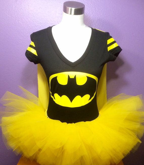 Batman Tutu Superhero Running Tutu Batman Costume Adult