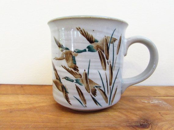 Vintage Canada Goose Mug Flying Geese Canadian by FoxLaneVintage, $14.00