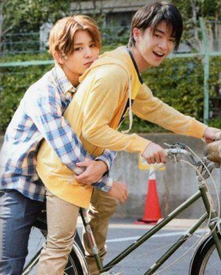 Yamada Ryosuke, Chinen Yuri : Hey Say Jump