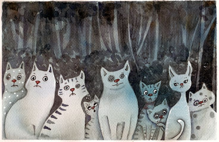 https://flic.kr/p/EMQcpY   in the light of luna   we have gathering like this around our place,I always imagine them grouping up and conspiring to yowl at the moon and fight like there's no tomorrow.