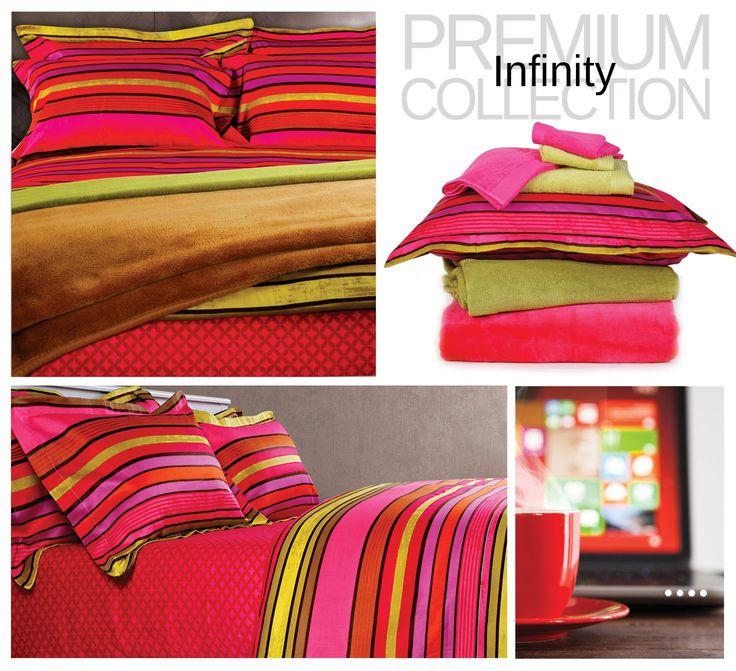 Premium Collection, Design:Ιnfinity 100% βαμβακοσατέν-200 κλωστές Σετ σεντόνια, σετ παπλωματοθήκη και πάπλωμα υπέρδιπλο.