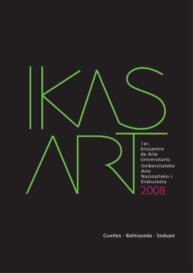 Ikas-Art 2008  Catalogo de la obra expuesta en la primera edicion de Ikas-Art 2008