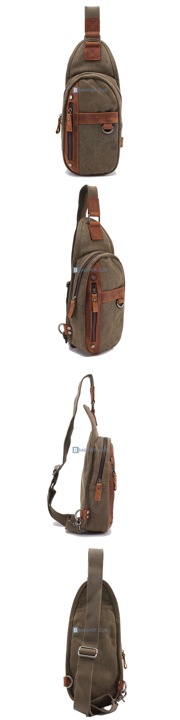 $58.99 Single Strap BackpacksSling Bag For Mens