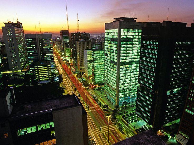 São Paulo, Brazil - Paulista Avenue.