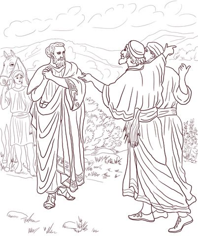 coloring pages healings of jesus - photo#26