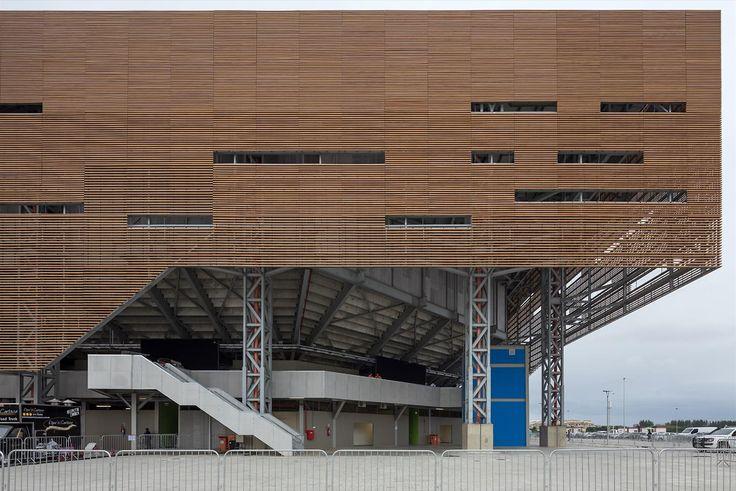 Arena de Handebol e Golbol - Olimpíadas Rio 2016 | Galeria da Arquitetura