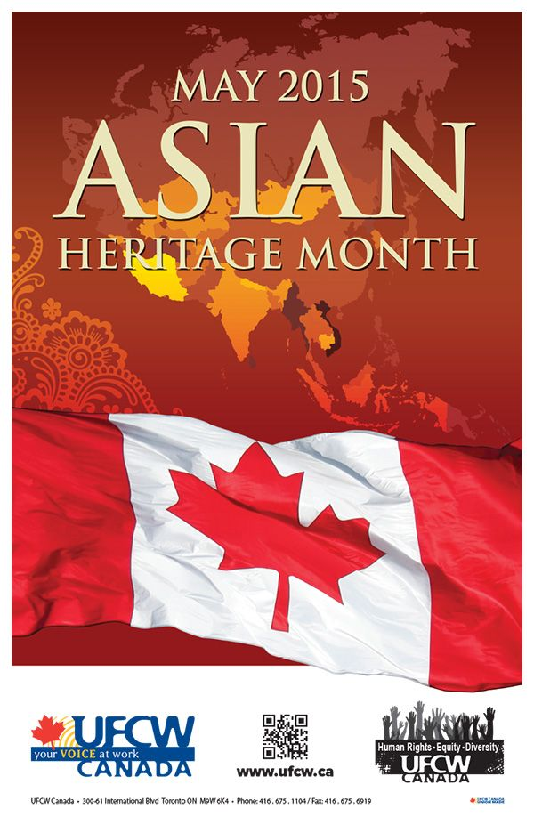 Asian Heritage Month – May 2015
