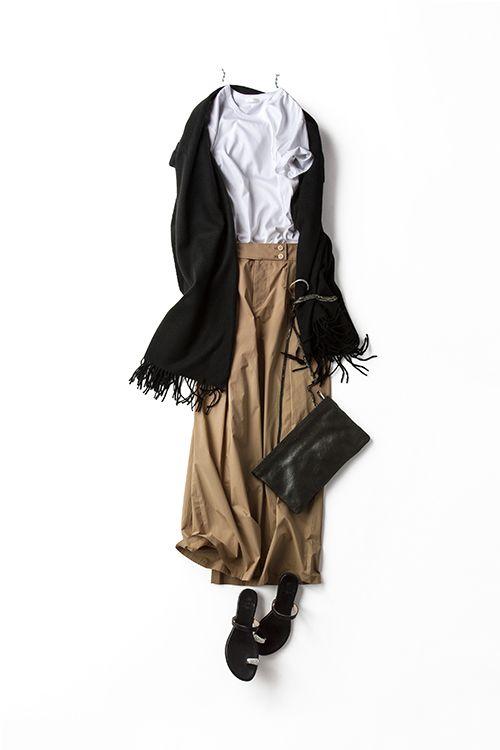Coordination detail (,,, After various put the Mood in white T-shirt) | Kyoko Kikuchi's Closet | Kikuchi Kyoko closet