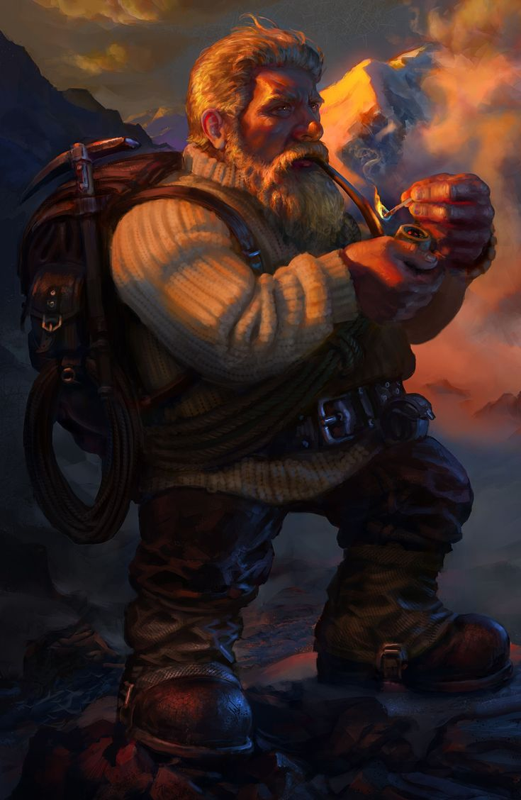 Dwarven Mountaineer