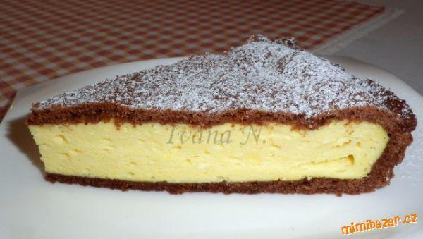 Výborný tvarohový koláček Těsto: 200 g hladké mouky, 4 g prdopeč, 2 PL kakaa…