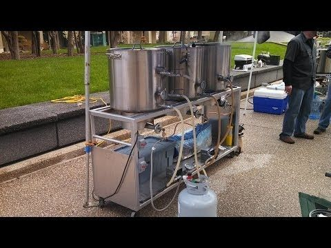 All Grain Brewing Large System - YouTube