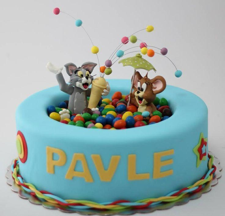 Tom and Jerry birthday cake