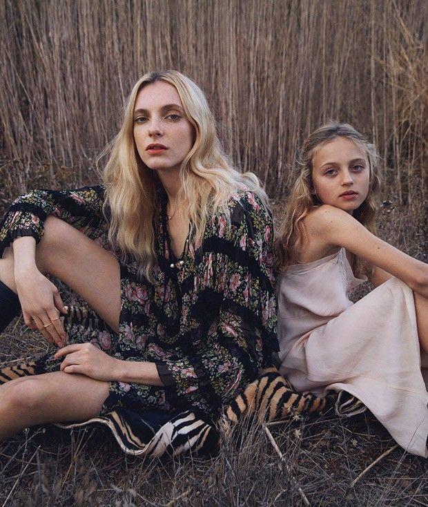 Zlata Semenko for Elle US by Yelena Yemchuk
